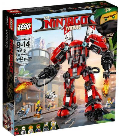 Конструктор LEGO Ninjago: Огненный робот Кая 944 элемента 70615 lego lego ninjago 70665 робот самурай