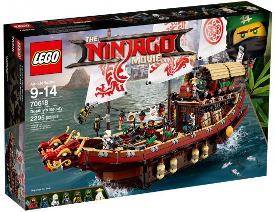Конструктор LEGO Ninjago Movie: Летающий корабль Мастера Ву 2295 элементов 70618 конструктор lego ninjago 70589 горный внедорожник