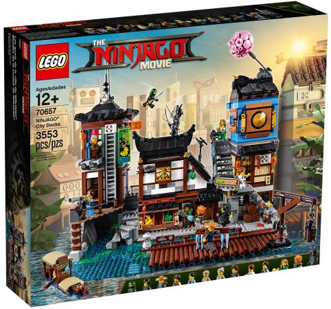 где купить Конструктор LEGO Ninjago: Порт Ниндзяго Сити 3553 элементов 70657 по лучшей цене
