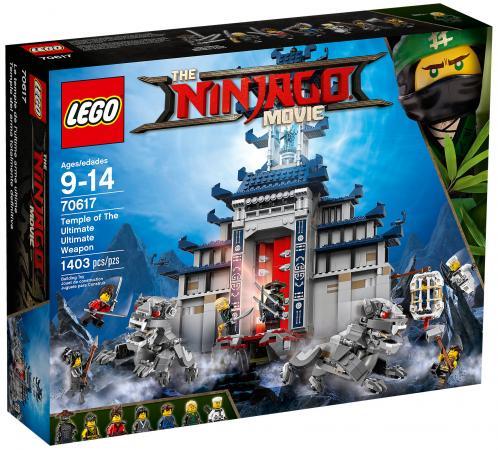 Конструктор LEGO Ninjago: Храм Последнего великого оружия 1403 элемента 70617 lego ninjago 70617 лего ниндзяго храм последнего великого оружия