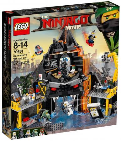 Конструктор LEGO Ninjago: Логово Гармадона в жерле вулкана 521 элемент 70631 конструктор lego ninjago 70589 горный внедорожник