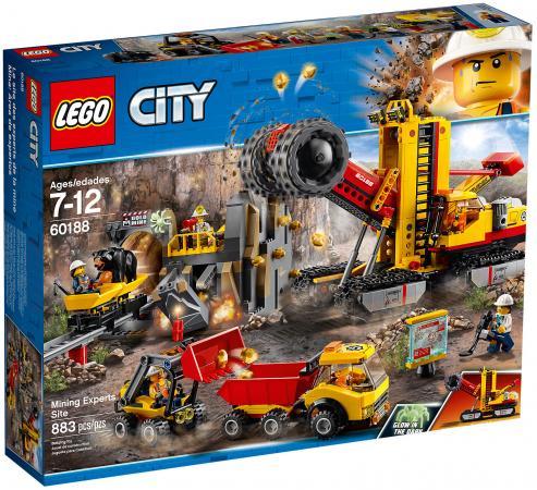 Конструктор LEGO City: Шахта 883 элемента 60188 конструктор lego city багги для поездок по джунглям 53 элемента 60156