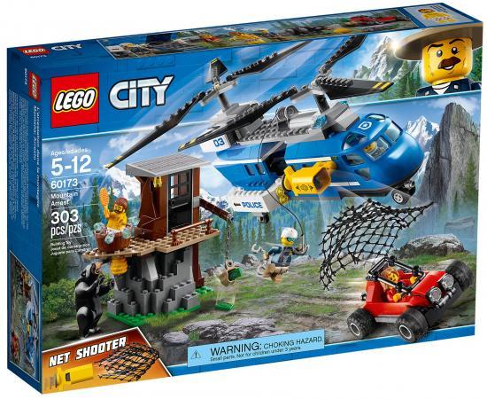 Конструктор LEGO City: Погоня в горах 303 элемента 60173 конструктор lego city погоня по грунтовой дороге 60172
