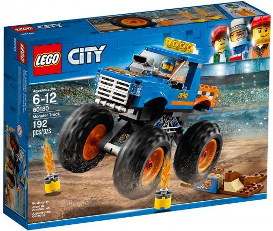 Конструктор LEGO City: Монстр-трак 192 элемента 60180 конструктор lego city багги для поездок по джунглям 53 элемента 60156