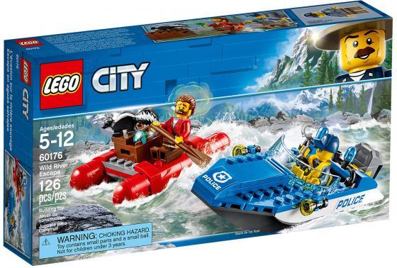 Конструктор LEGO City: Погоня по горной реке 126 элементов 60176