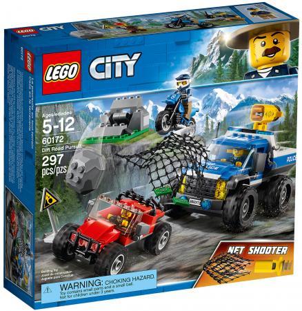 Конструктор LEGO City: Погоня по грунтовой дороге 297 элементов 60172 конструктор lego city погоня по грунтовой дороге 60172