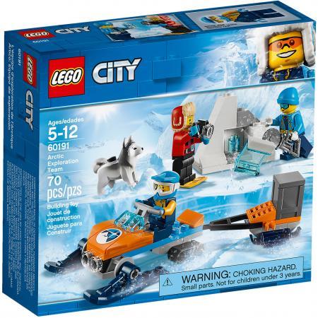 Конструктор LEGO City: Арктическая экспедиция - Полярные исследователи 70 элементов 60191 конструктор lego city арктическая экспедиция аэросани 50 элементов