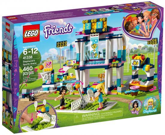 Конструктор LEGO Friends: Спортивная арена для Стефани 460 элементов 41338