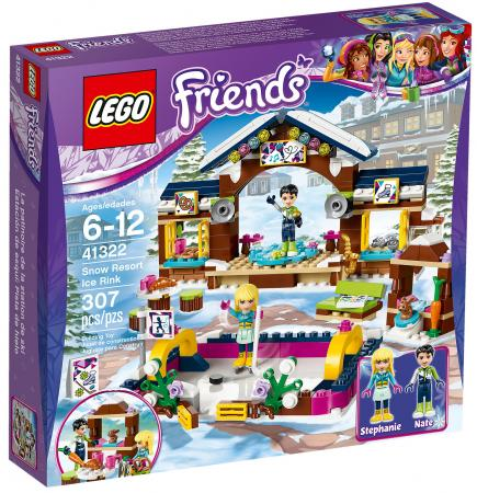 Конструктор LEGO Friends: Горнолыжный курорт - каток 307 элементов 41322