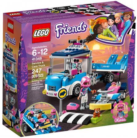 Конструктор LEGO Friends: Грузовик техобслуживания 247 элементов 41348