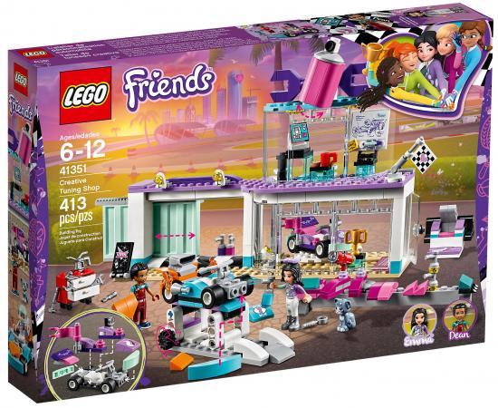 Конструктор LEGO Friends: Мастерская по тюнингу автомобилей 413 элементов 41351 конструктор friends lego lego mp002xg00d75