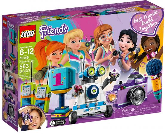 Конструктор LEGO Friends: Шкатулка дружбы 563 элемента 41346