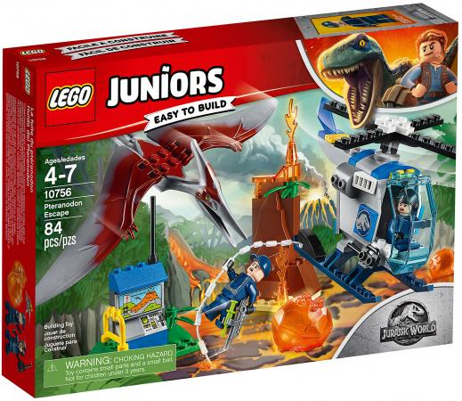 Конструктор LEGO Juniors - Jurassic World: Побег птеранодона 84 элемента 10756