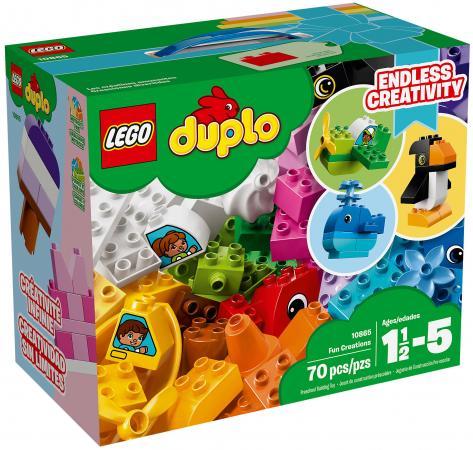 Конструктор LEGO Duplo: Весёлые кубики 70 элементов 10865 lego duplo конструктор гоночный автомобиль 10589