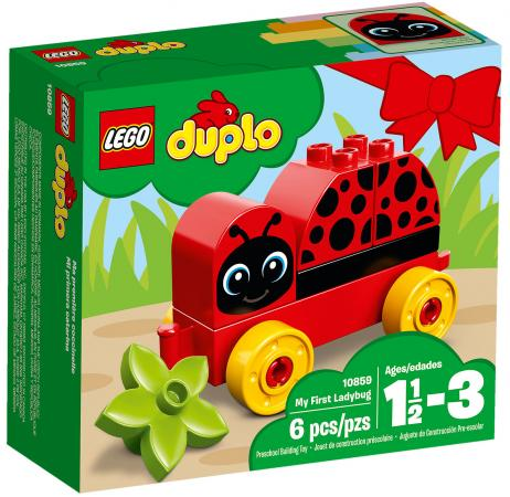 Конструктор LEGO Duplo: Моя первая божья коровка 6 элементов 10859