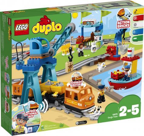Конструктор LEGO Duplo: Грузовой поезд 105 элементов 10875