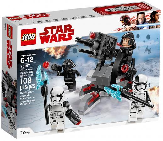 Фото Конструктор LEGO Star Wars: Боевой набор специалистов Первого Ордена 108 элементов 75197