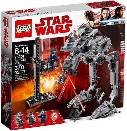 Конструктор LEGO Star Wars: Вездеход AT-ST Первого Ордена 370 элементов 75201 конструктор lego technic скоростной вездеход с дистанционным управлением 42065