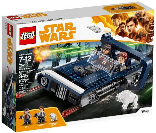 Конструктор LEGO Star Wars: Спидер Хана Cоло 345 элементов 75209 конструктор металлический грузовик и трактор 345 элементов