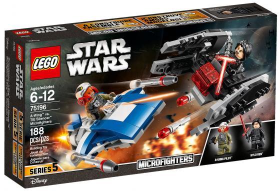 Конструктор LEGO Star Wars: Истребитель типа A против бесшумного истребителя СИД 188 элементов 75196 конструктор lego star wars истребитель затмения 75145