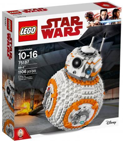 Конструктор LEGO Star Wars: ВВ-8 1106 элементов 75187 lele 2069 pcs star plan series the double b 8 robot set 75187 set building blocks bricks toys compatible lepin 05018