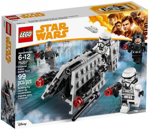 Конструктор LEGO Star Wars: Боевой набор имперского патруля 99 элементов 75207 lego star wars 75131 боевой набор сопротивления