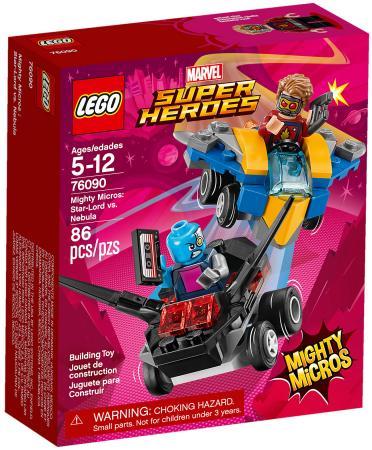 Конструктор LEGO Super Heroes: Звёздный Лорд против Небулы 86 элементов 76090 цена