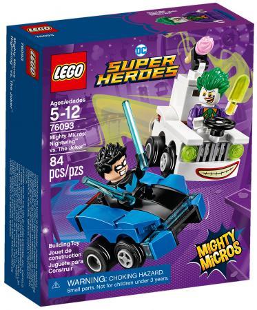Конструктор LEGO Super Heroes: Mighty Micros - Найтвинг против Джокера 84 элемента 76093 цены