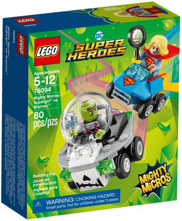 Конструктор LEGO Super Heroes: Супергёрл против Брейниака 80 элементов 76094 цена