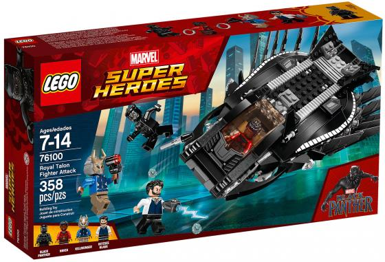 Конструктор LEGO Super Heroes: Нападение Королевского Когтя 358 элементов 76100 конструктор lego super heroes нападение с воздуха 76087 l