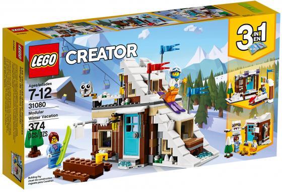 Конструктор LEGO Creator: Зимние каникулы (модульная сборка) 374 элемента 31080 все цены