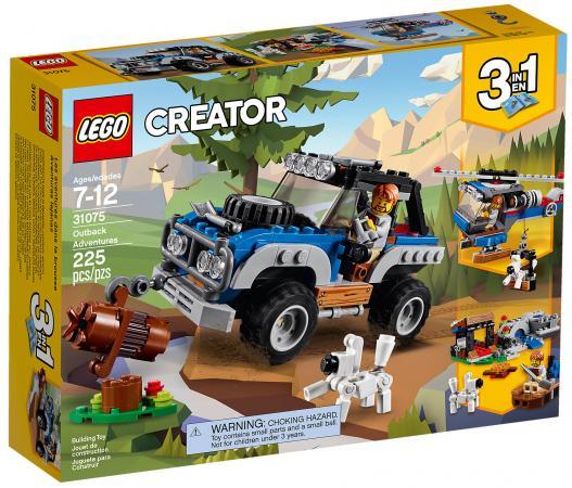Конструктор LEGO Creator: Приключения в глуши 225 элементов 31075