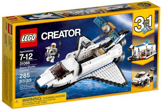 Конструктор LEGO Creator: Исследовательский космический шаттл 285 элементов 31066 lego creator исследовательский космический шаттл 31066