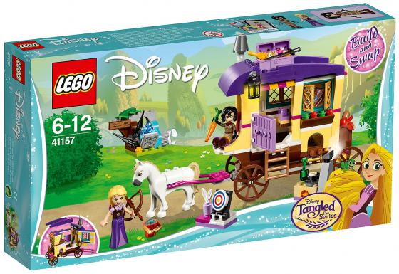 Конструктор LEGO Disney Princess: Экипаж Рапунцель 323 элемента 41157 lego disney princess конструктор волшебный замок золушки 41154
