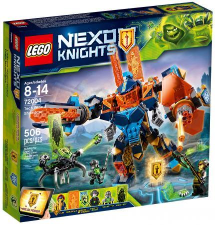 Конструктор LEGO Nexo Knights: Решающая битва роботов 506 элементов 72004 кукла 1toy лакомка лиза кудрявая блондинка 36 см т10377