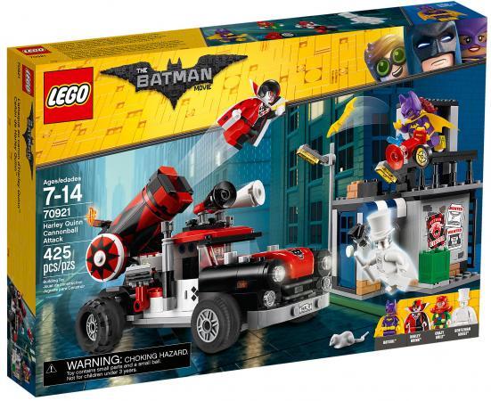 Конструктор LEGO Movie: Тяжёлая артиллерия Харли Квинн 425 элементов 70921