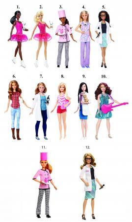 Игрушка Barbie  Кукла из серии «Кем быть?»