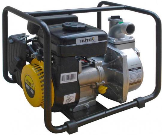 Мотопомпа HUTER MP-40 2.8лс 18000л/ч глубина 8м высота 30м мотопомпа huter mp 50