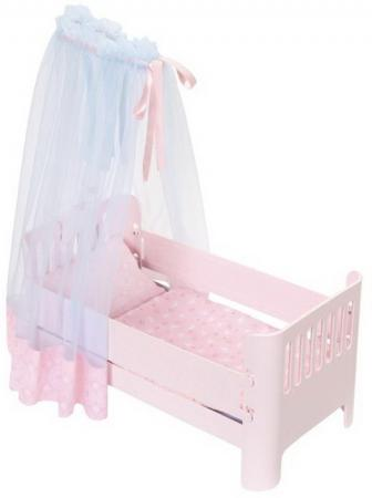 Кроватка для кукол Zapf Creation Baby Annabel Спокойной ночи аксессуары для кукол zapf игрушка baby annabell памперсы