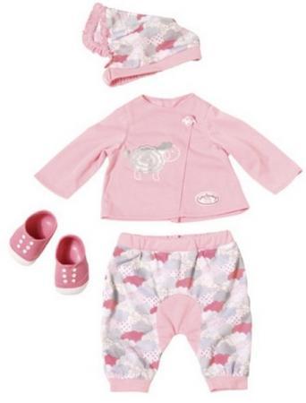Одежда для кукол Zapf Creation Одежда для уютного вечера куклы и одежда для кукол zapf creation baby annabell памперсы 5 штук
