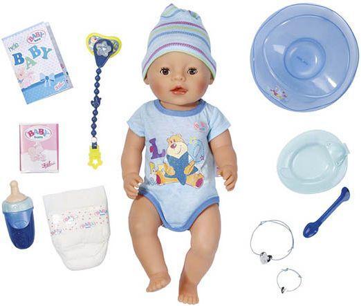 Игрушка BABY born Кукла-мальчик Интерактивная, 43 см, кор. кукла zapf creation mooshka 24 см в ассортименте