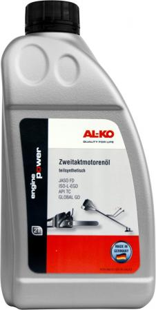 Полусинтетическое моторное масло Al-Ko 112896 1 л бензопила al ko bks3835 [113185l]