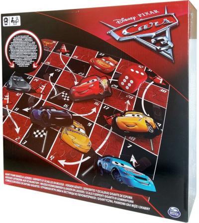 """Настольная игра Spin Master """"Канаты и лестницы"""" Disney Тачки-3 spin master игра домино disney тачки 3"""