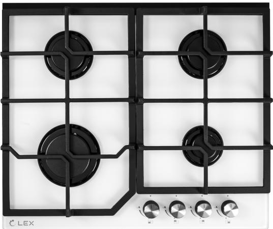 Варочная панель газовая LEX GVG 642 WH белый цена и фото