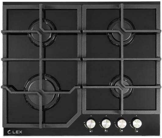 Варочная панель газовая LEX GVG 642 BL черный цена и фото