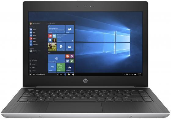 HP ProBook 430 G5 Core i3-8130U 2.2GHz,13.3 HD (1366x768) AG,4Gb DDR4(1),128Gb SSD,48Wh LL,FPR,1.5kg,1y,Silver,Win10Pro ноутбук планшет hp elite x2 1013 2ts86ea g3 core i3 8130u 4gb 128gb ssd 13 3 touch pen win10pro gray