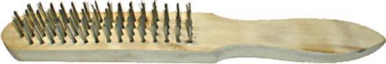 Кордщетка FIT 38405 с деревянной ручкой 5-ти рядная кордщетка атака 27581 145 7133005 с деревянной ручкой 5 ти рядная