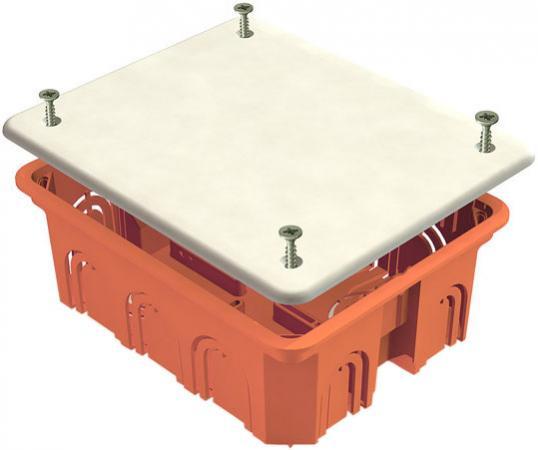 Коробка распаячная ТДМ SQ1402-1008 120х92х45мм крышка IP20