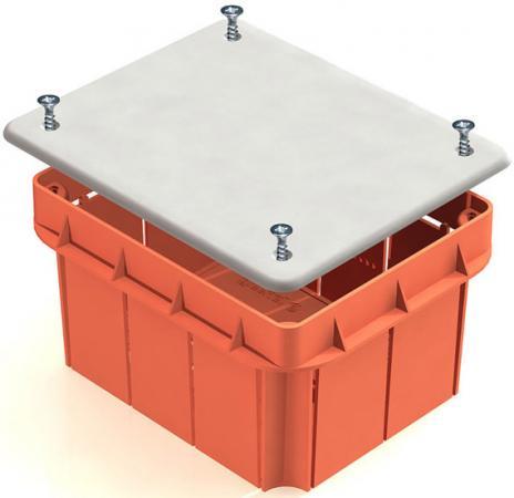 Коробка распаячная ТДМ SQ1402-1009 120х92х70мм крышка IP20 датчик движения тдм sq0324 0023 2000вт 10 1800с 4х20м 3 лк 120сбоку 360сверхугр ip20