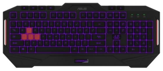 Клавиатура ASUS CERBERUS MKII RGB(RUS)